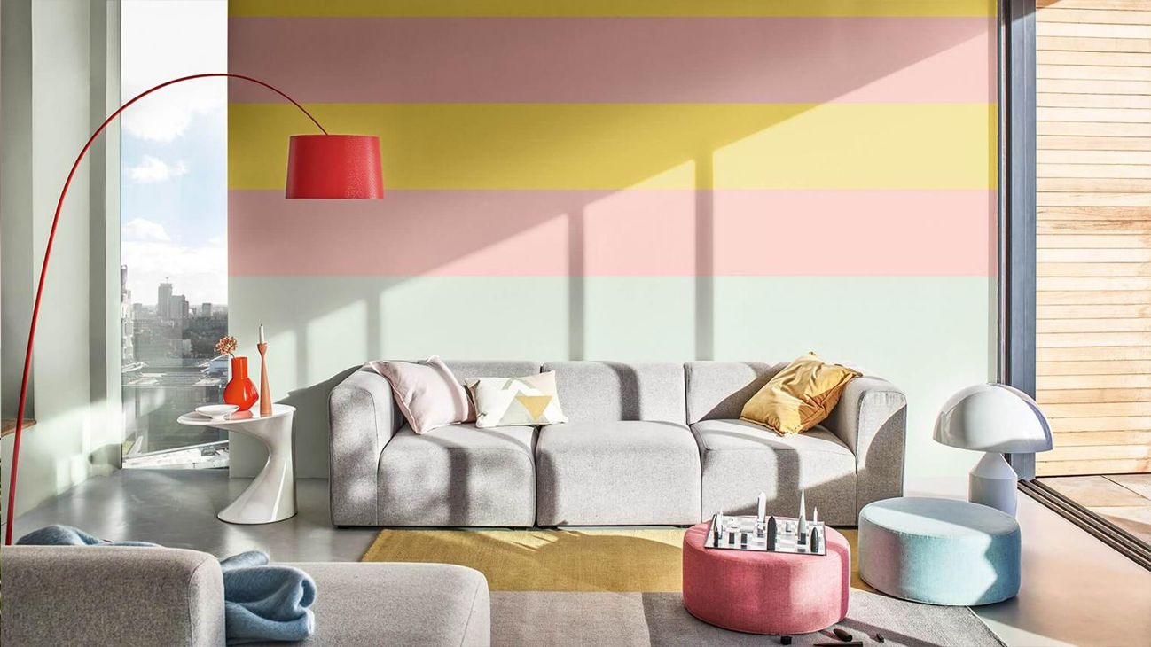 Check How To Paint Stripes On Walls In 7 Simple Steps