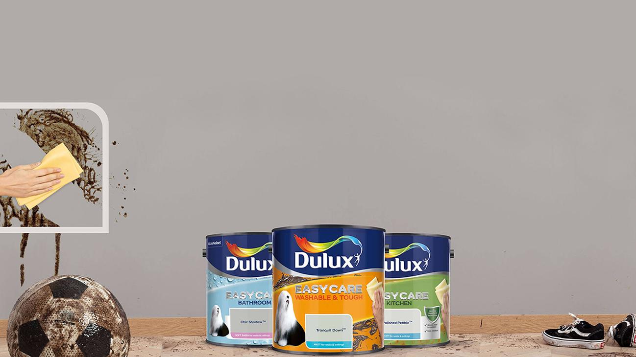 dulux easycare range -