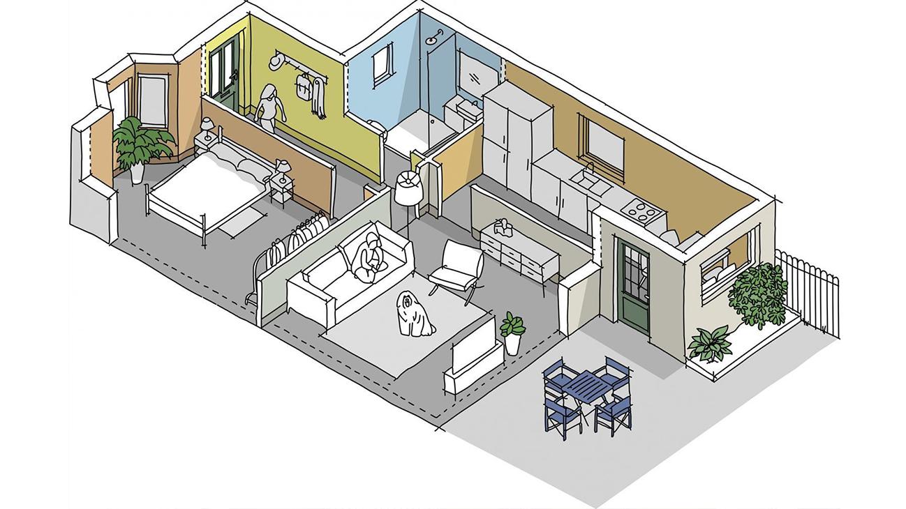 house painting blueprint